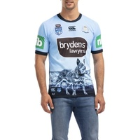 NSW Blues 2020 State of Origin Captains Run Drill Top (S - 3XL)