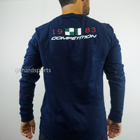 Nautica Competition 83 Long-Sleeve Tee in Navy (Sizes XS - 2XL Available)