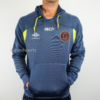 Brisbane Broncos 2018 NRL ISC Men's Squad Hoody (Sizes S + M) **ON SALE NOW**