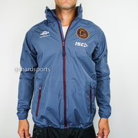 Brisbane Broncos 2018 NRL Wet Weather Jacket (Sizes S - XL)